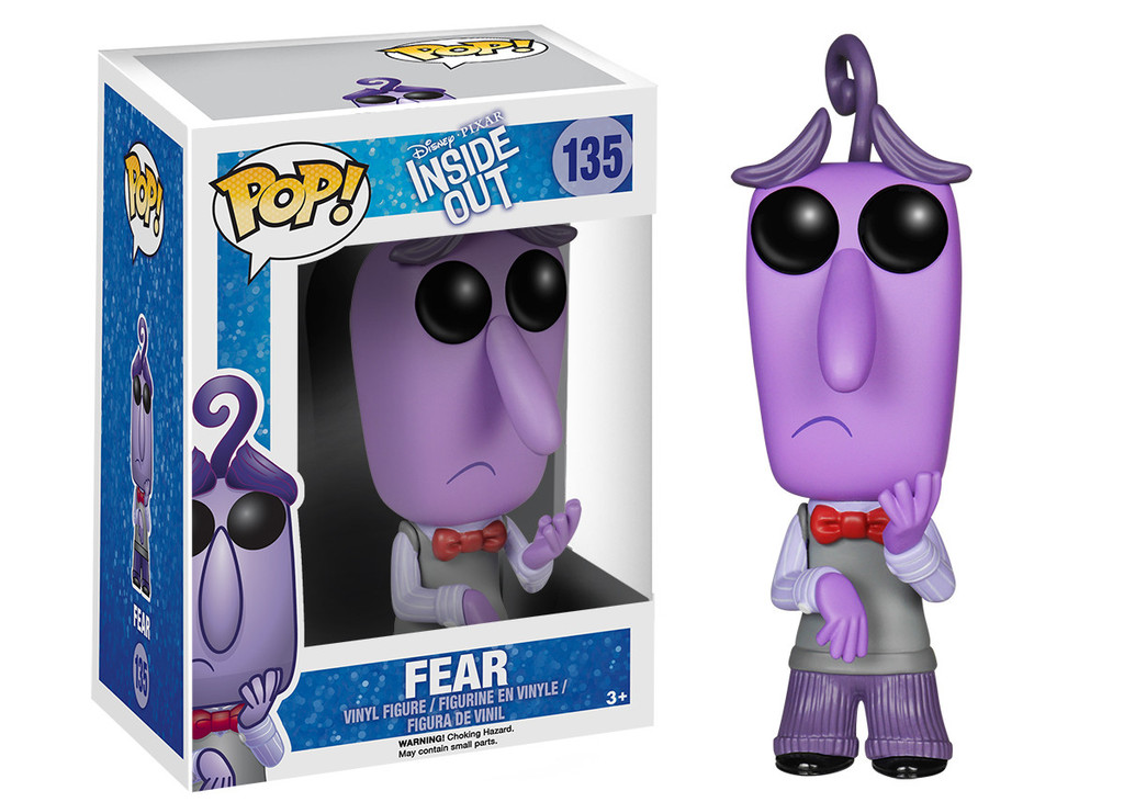 Pop! Funko Intensamente Temor