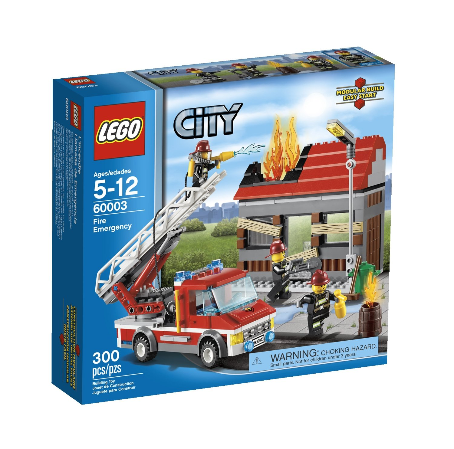 Lego 60003 City Fire Emergency