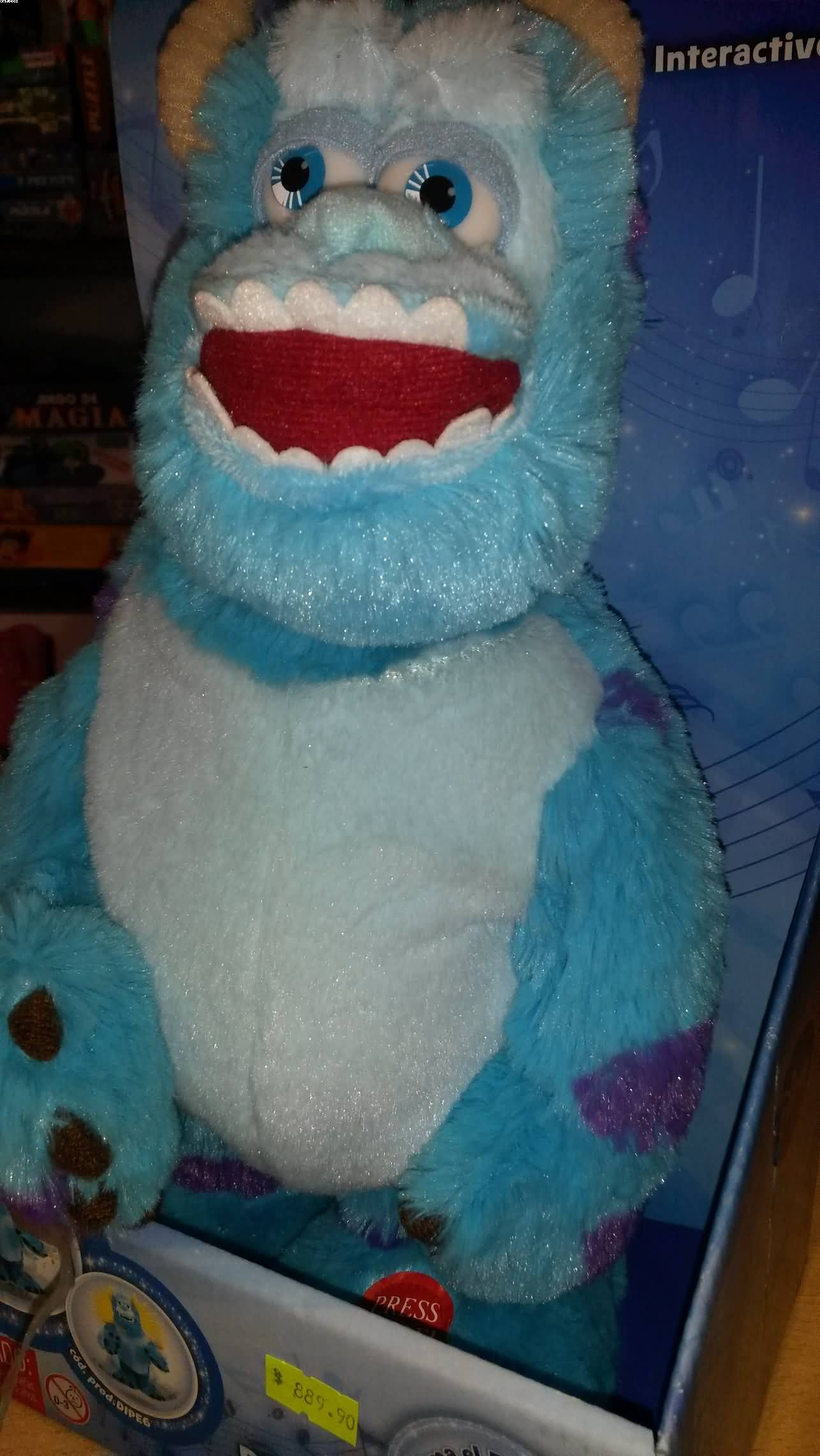 Peluche Interactivo Sullivan Monster Inc