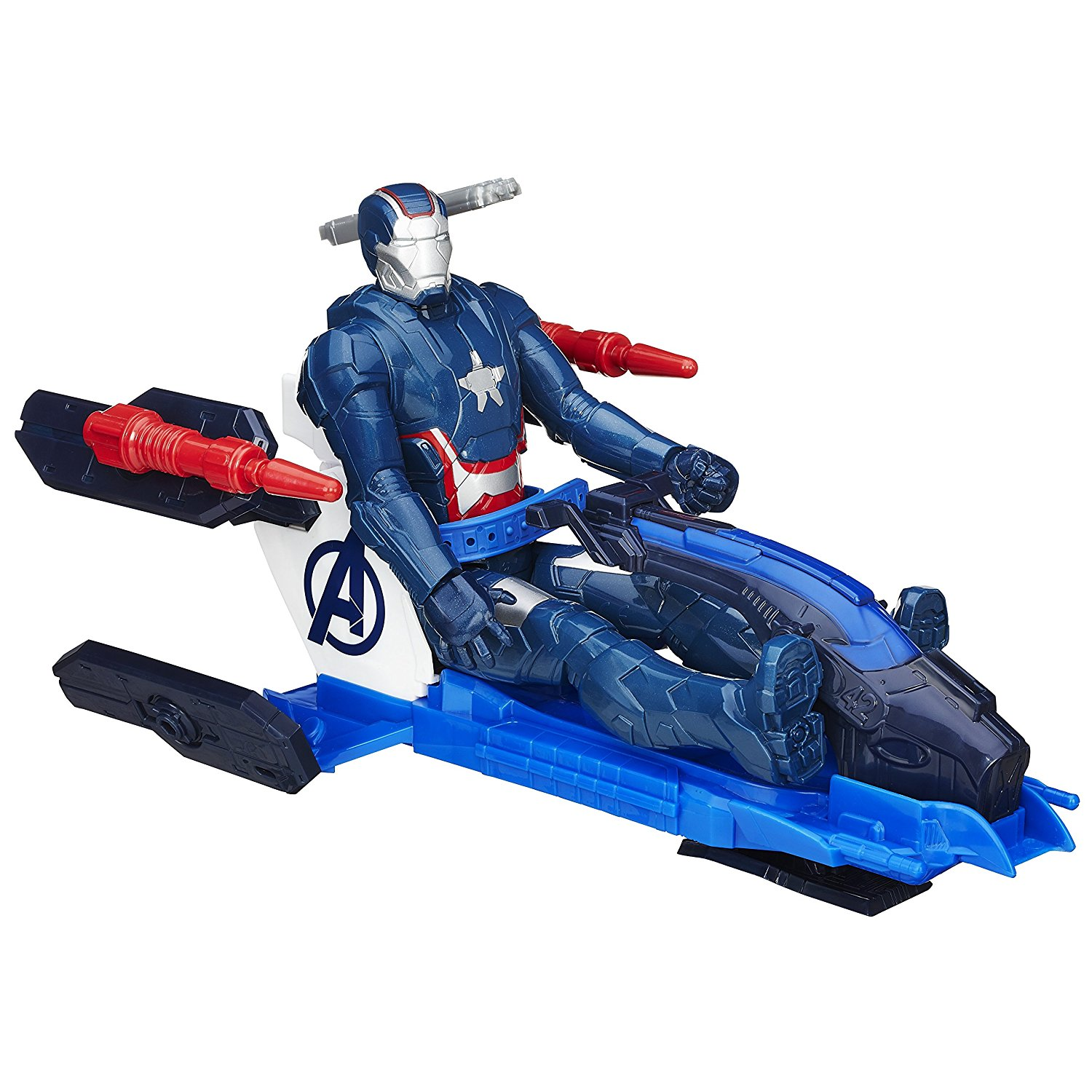Iron Patriot Con Jet Repulsor Titan Hero Series