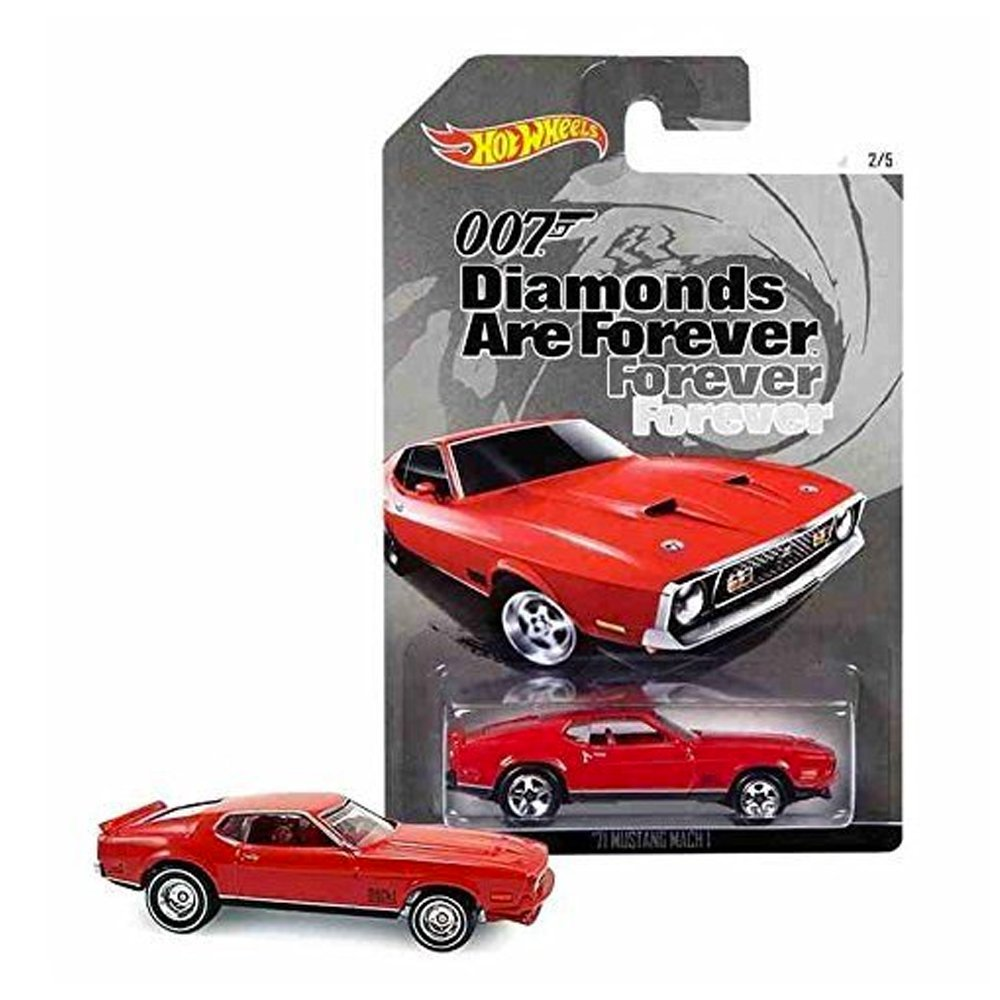 007 Diamons Are Forever 71 Mustang Mach 1