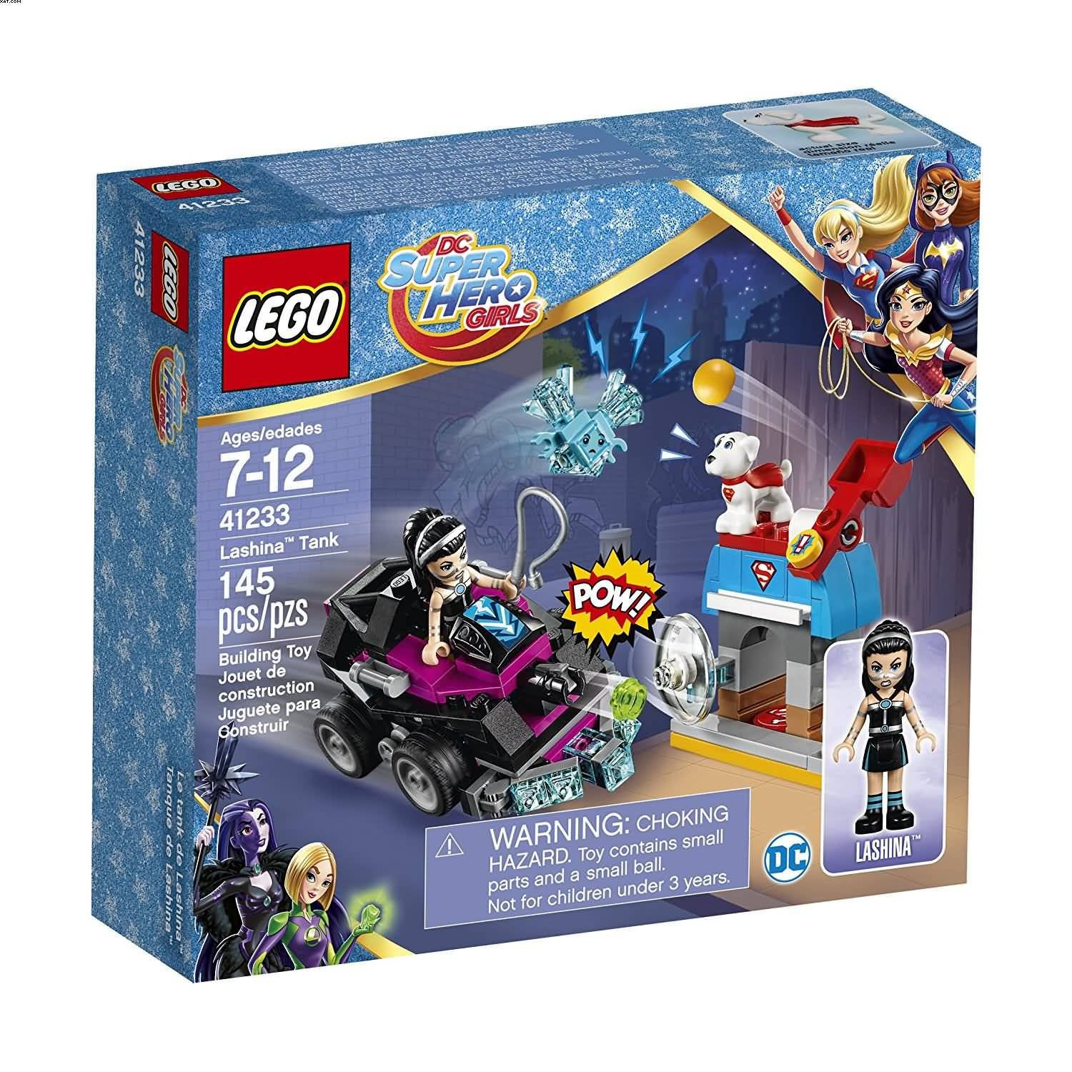 Lego 41233 DC Super Hero Girls Lashina Tank