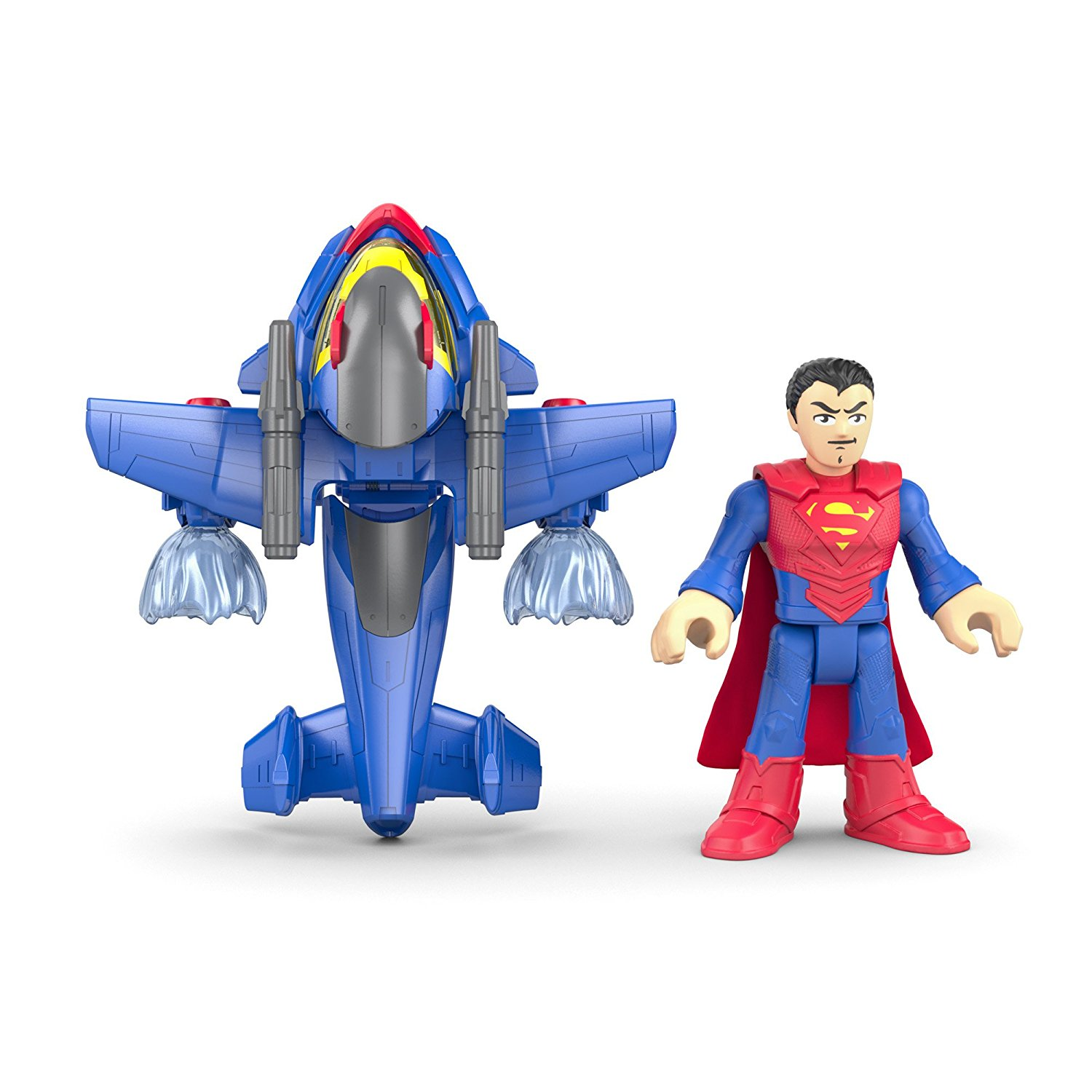 Imaginext Superman Armadura Transformable