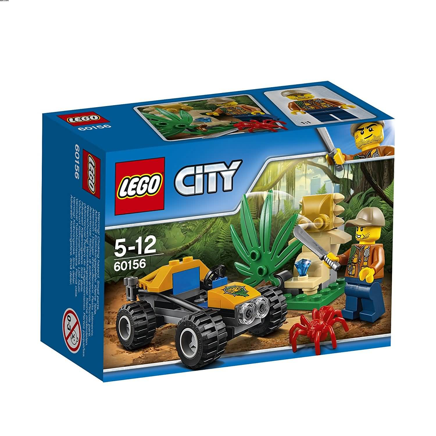 Lego 60156 Jungle Buggy City