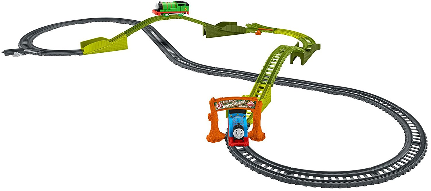 Trackmaster Pista Switchback Swamp