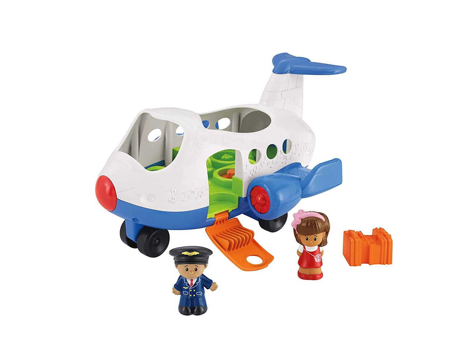 Avion Con Sonidos Secretos Little People