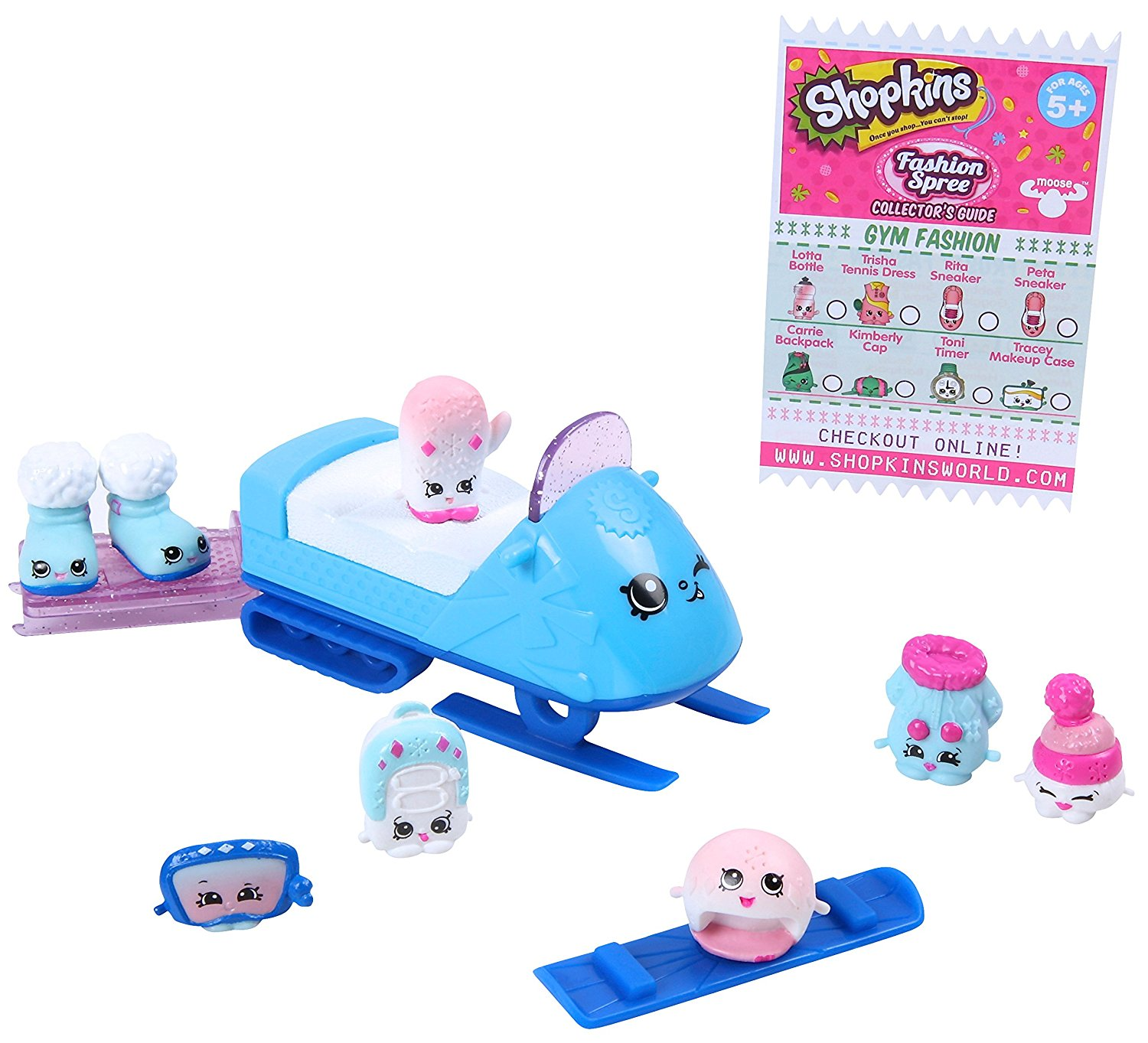 Shopkins Frosty Fashion Collection