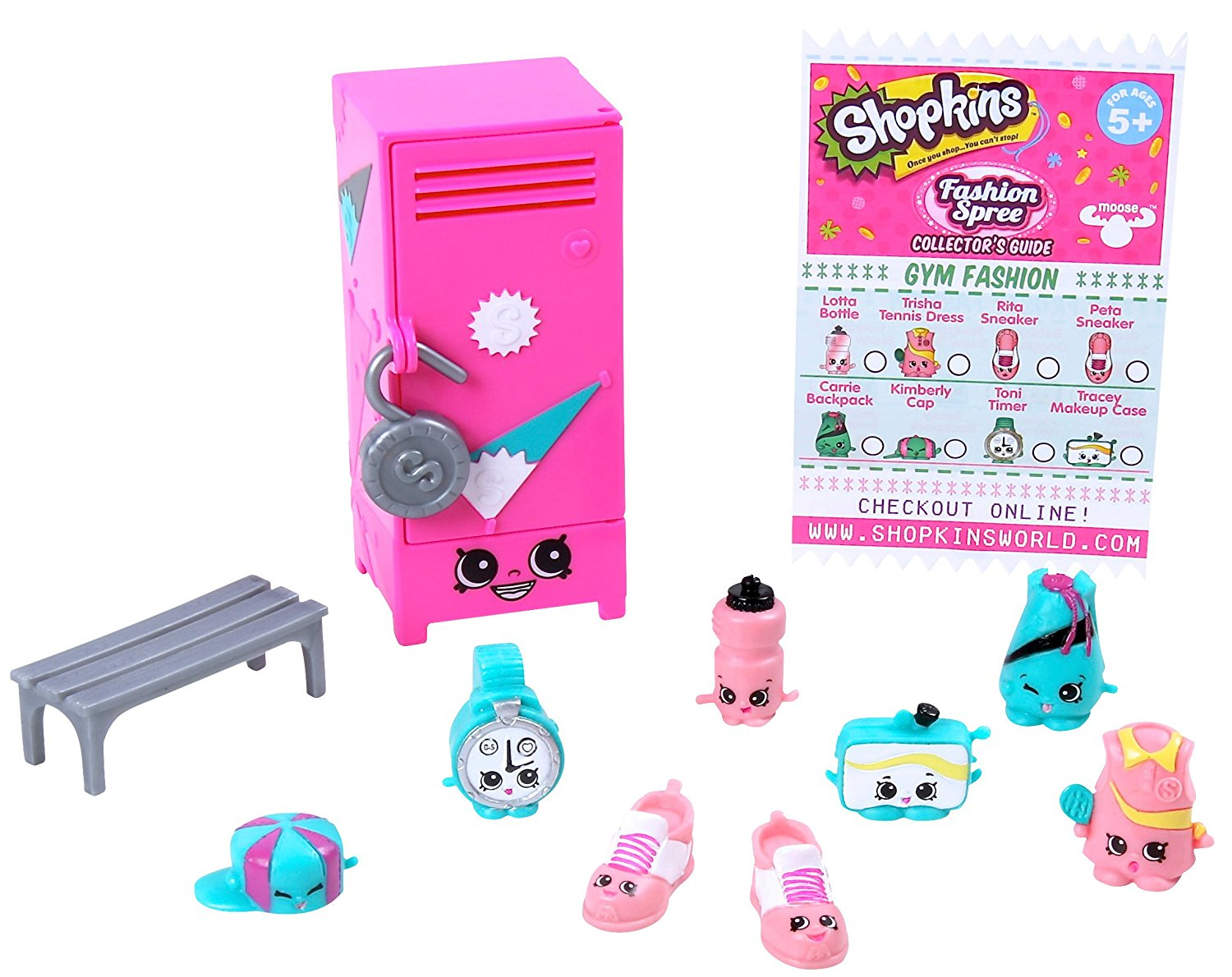 Shopkins Gym Fashion Collection