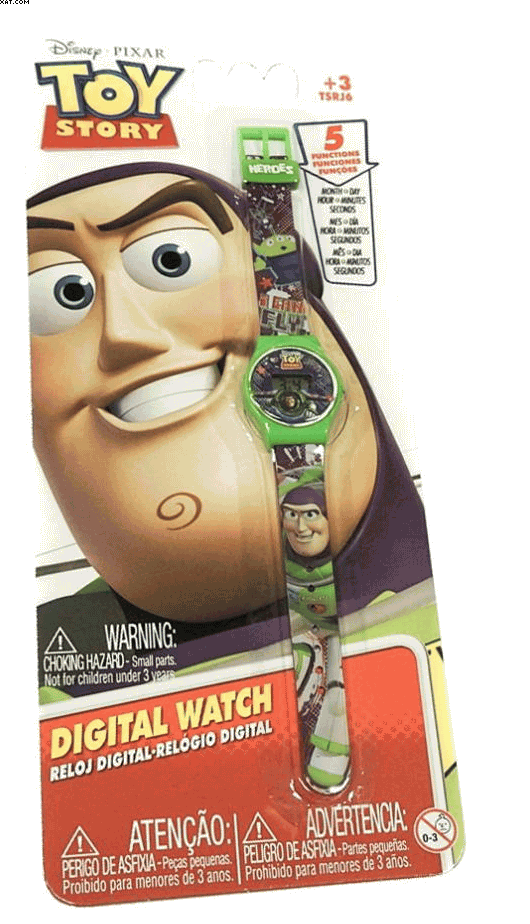 Reloj Digital Toy Story Verde Intek