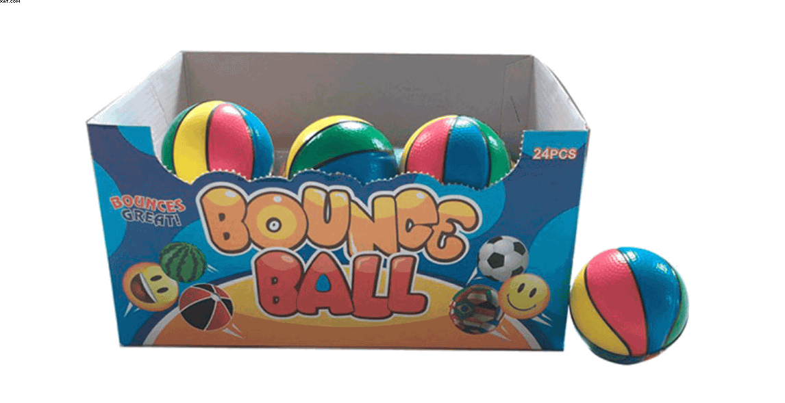 Bounce Ball Mini Pelotas De Basquet De 6Cm