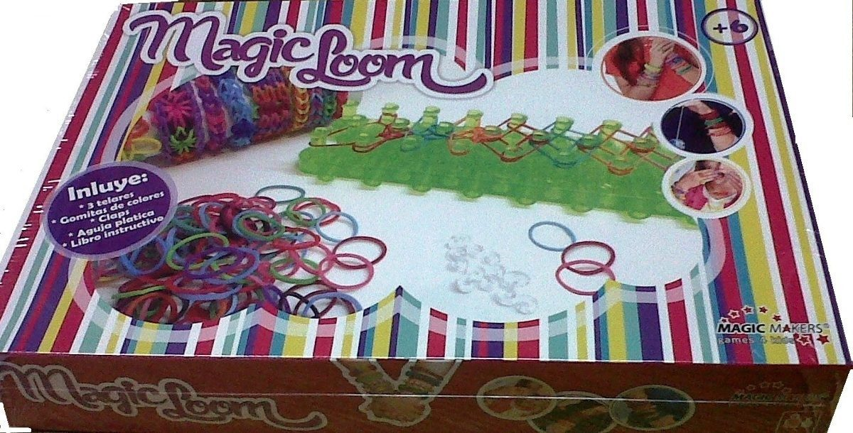 Telar De Pulseras Gomitas Magic Loom